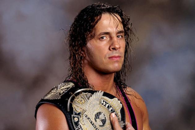 BRET HART AS WWF CHAMPION PHOTO VIA  WWE.COM
