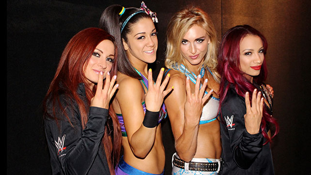 The Four Horsewomen have all advanced through the ranks in the company this past year and #WomensWrestling is becoming more popular than ever. PHOTO VIA WWE