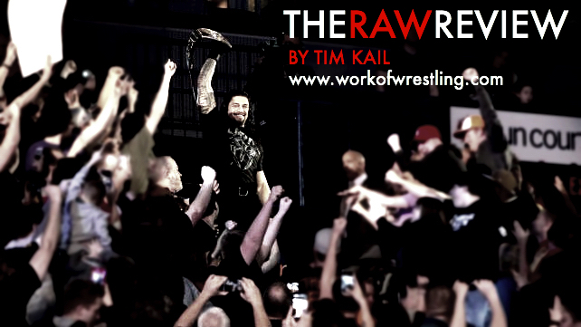 THE RAW REVIEW FOR EPISODE 12/21/15 PHOTO VIA WWE