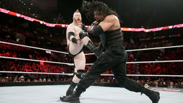 SHEAMUS AND ROMAN REIGNS HAD ANOTHER EXCELLENT MATCH ON RAW.