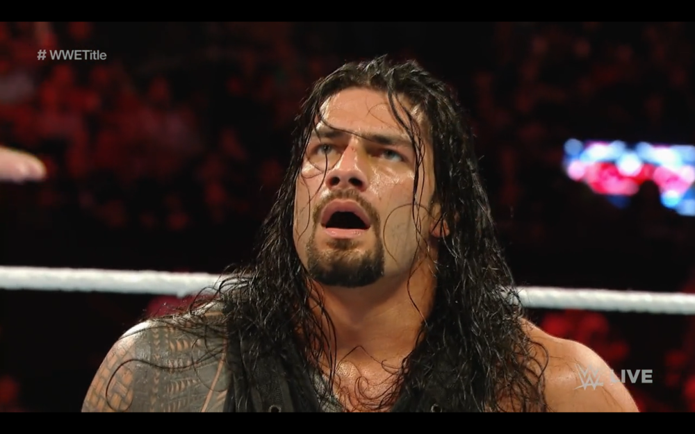 ROMAN REIGNS REACTS TO VINCE MCMAHON'S DIRTY COUNTING