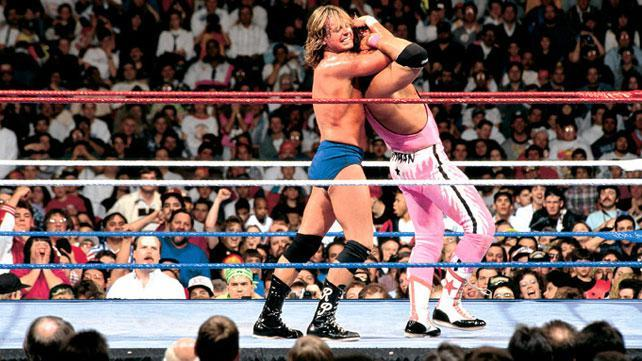 Roddy Piper vs Bret Hart