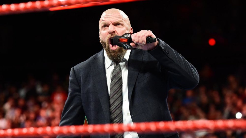 Triple H announces he will be the fifth member of Team Raw at Survivor Series.