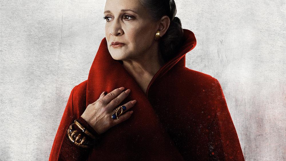 Carrie Fischer as Leia Organa