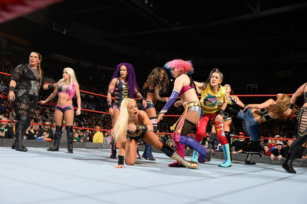 The main event of Monday Night Raw