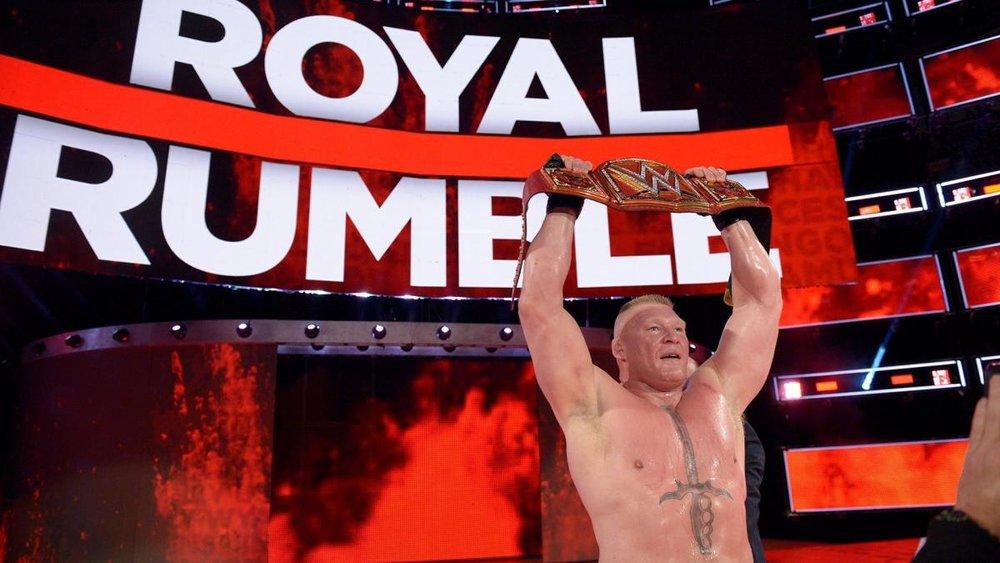 Brock Lesnar, Universal Champion, At The 2018 Royal Rumble