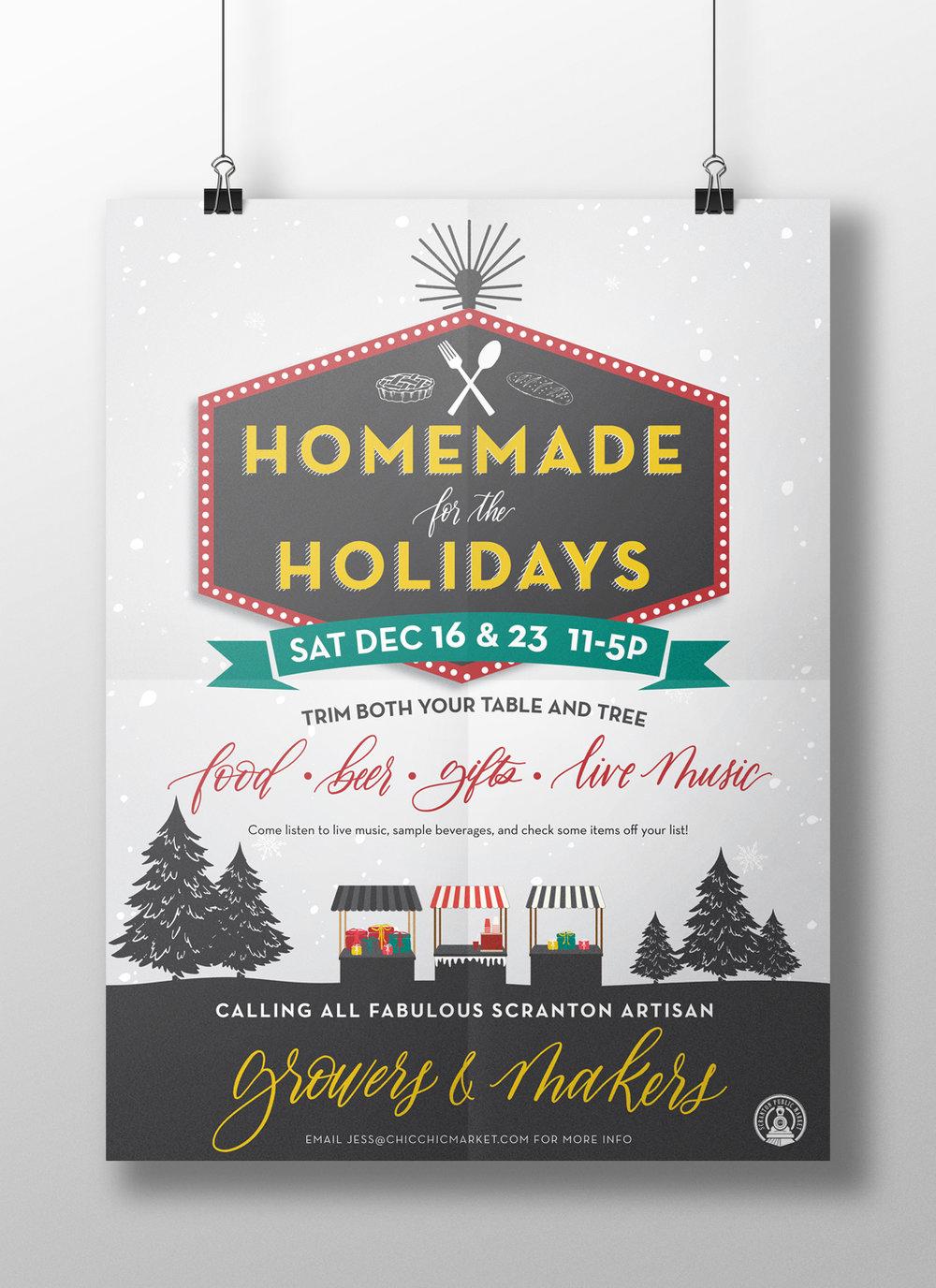 Holiday Marketplace Advertisement