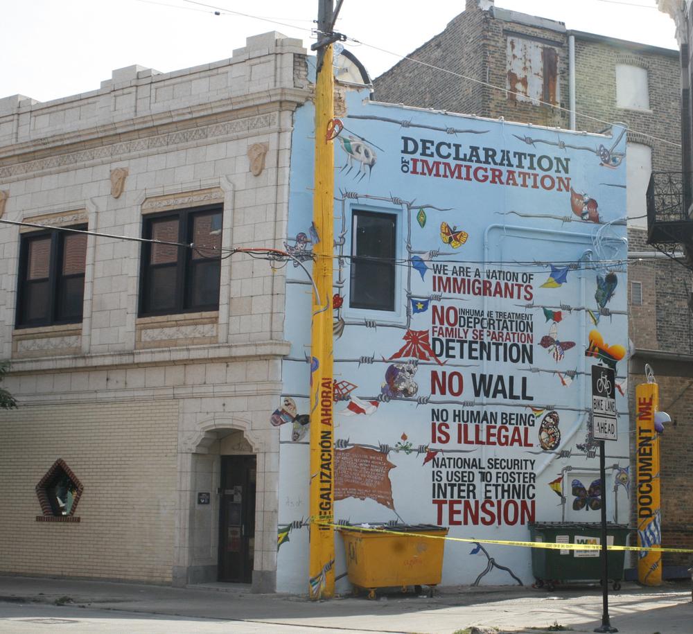 Declaration of Immigration/Declaration de Inmigración