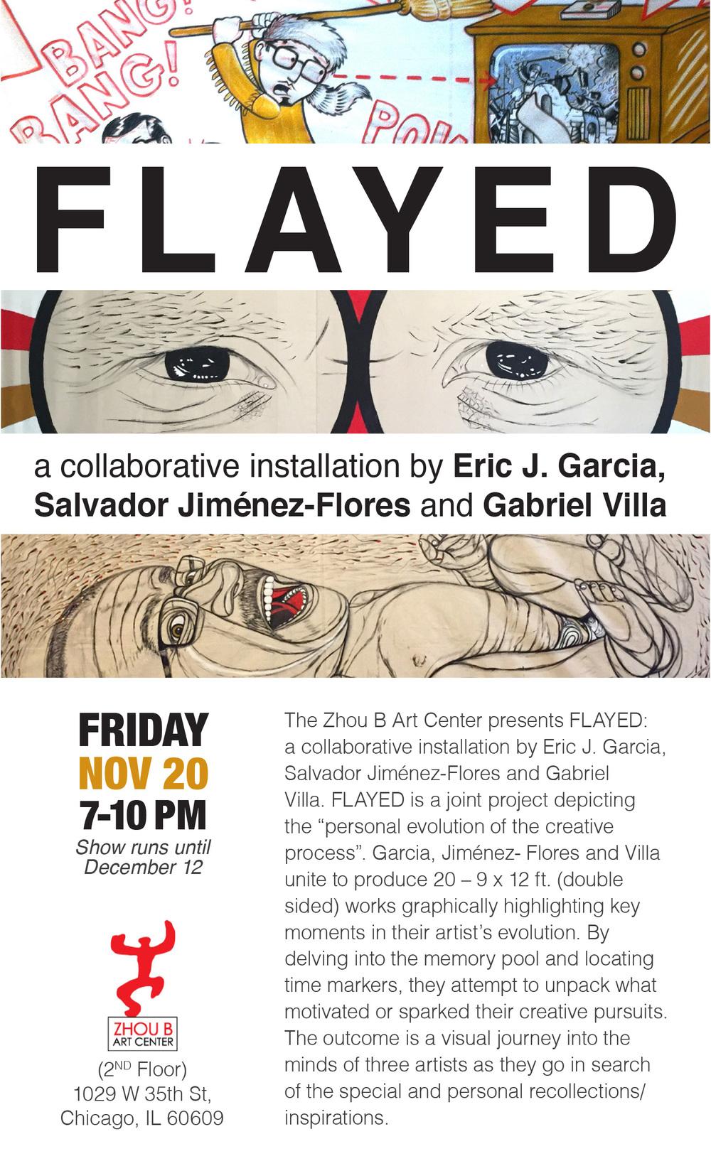 Exhibition Poster/Cartel de la exposición