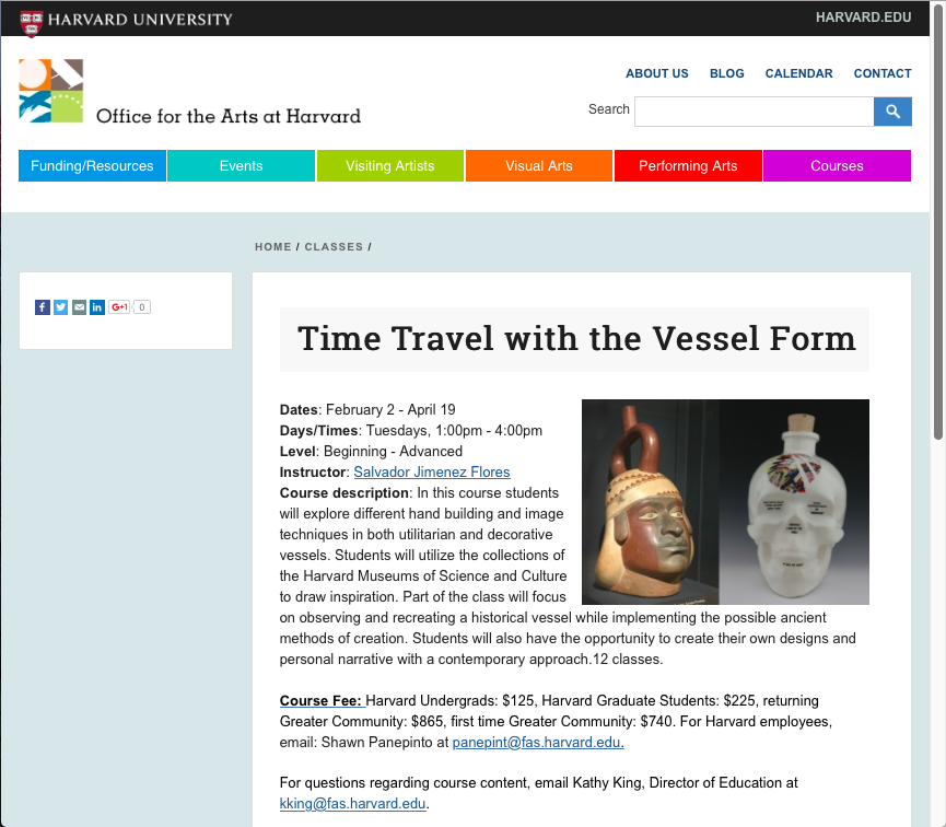 Time Travel with the Vessel Form