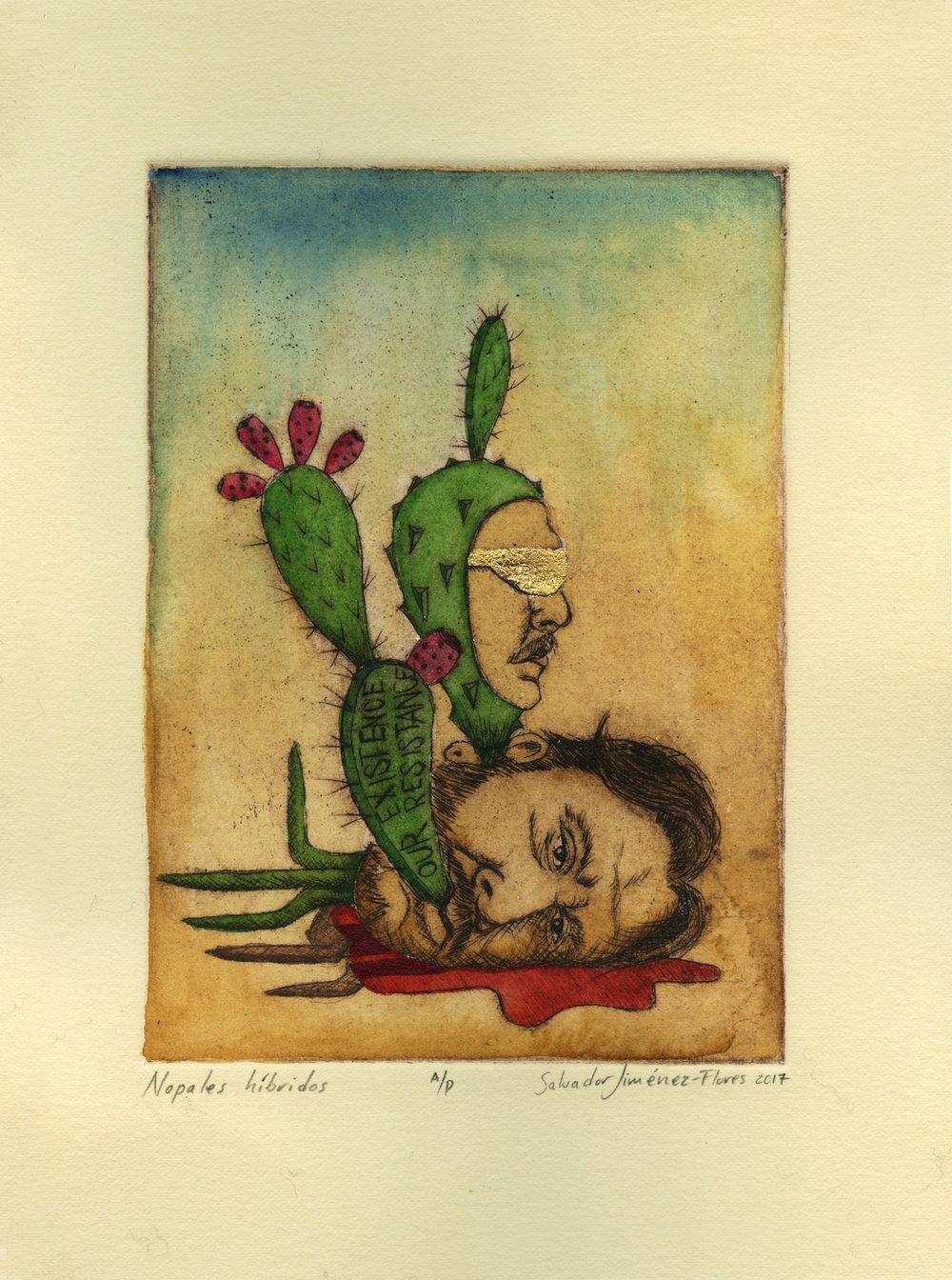 Hybrid Cacti/Nopales híbridos