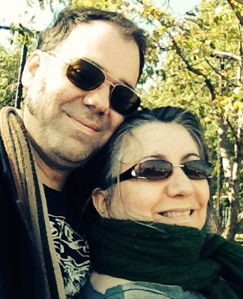 Mark Fenwick & Bernice Landry, October 2014