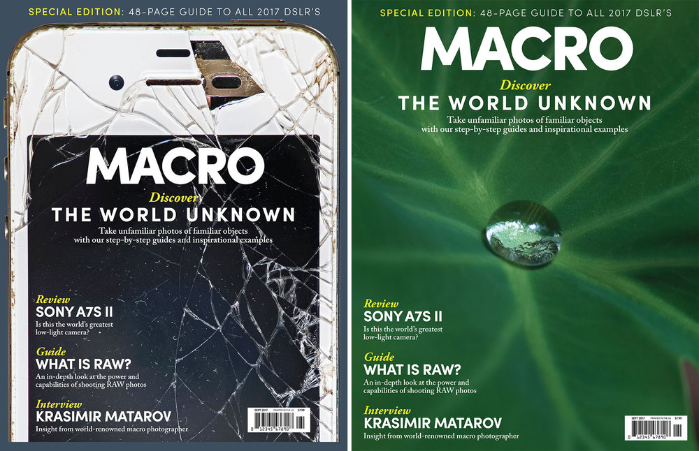 Macro Magazine  Covers