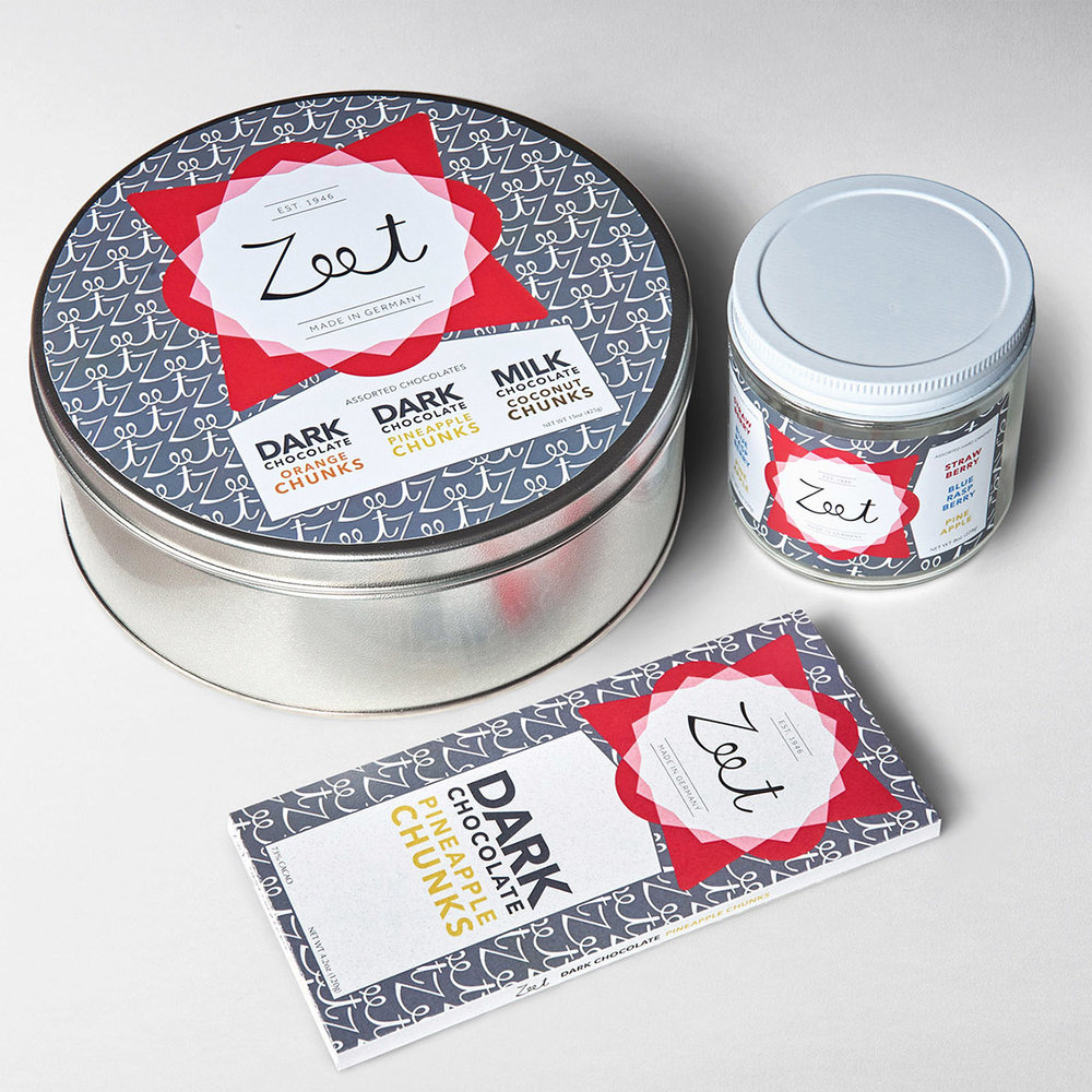 Zeet Sweets   Branding, Packaging Design, Web Design