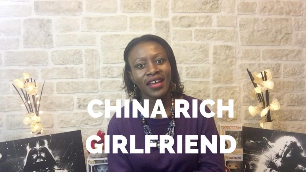China Rich Girlfriend Tendayi O Chirawu