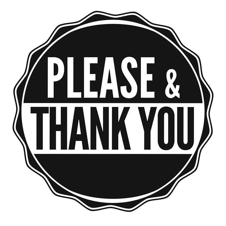 Please & Thank You Logo