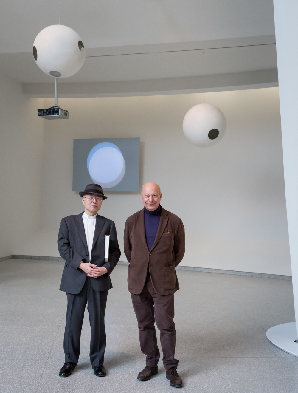Norio Imai and Axel Vervoordt for the Guggenheim