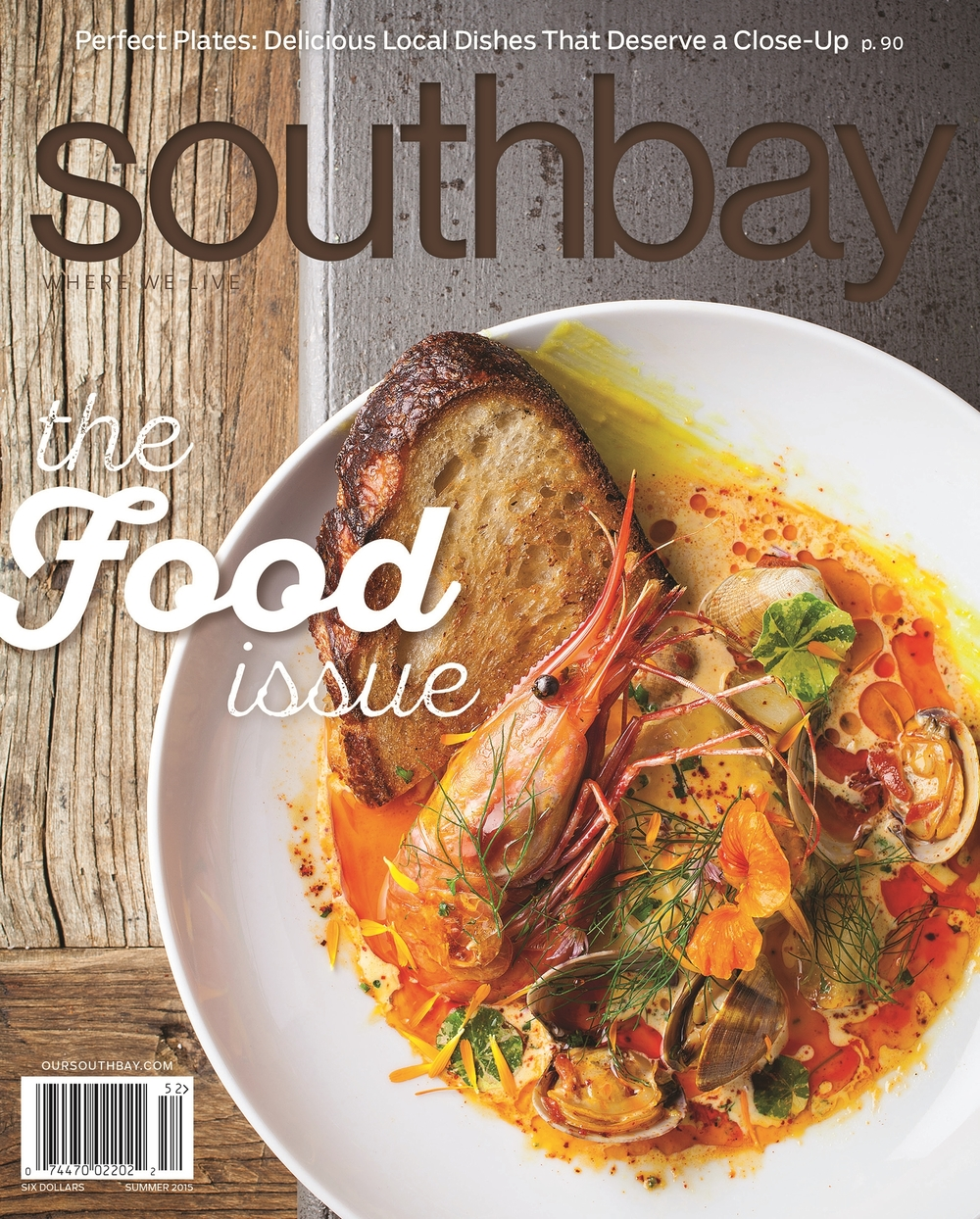 SOUTHBAY SUMMER COVER 2015