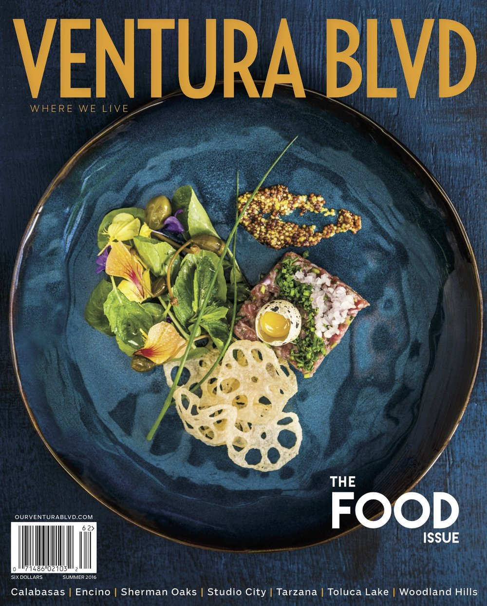VENTURA BLVD FOOD ISSUE COVER 2016