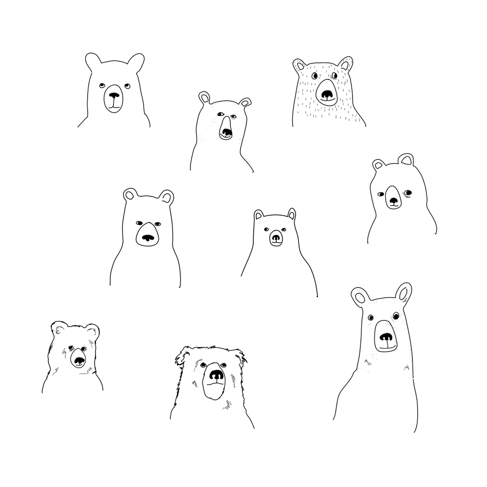 bears-sketches-christina-heitmann-illustrator