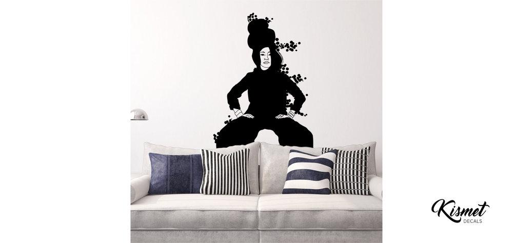 christina-heitmann-illustration-strike a pose-wall stickers.jpg