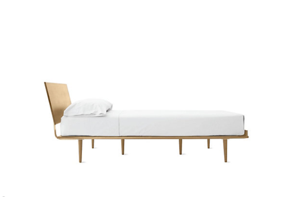 A minimalist bed for minimalist seekers hey love design - Comfortable beds for small spaces minimalist ...