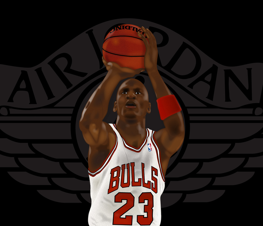 His Airness | Adobe Illustrator
