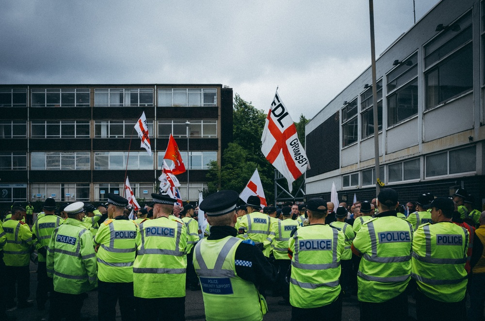 EDL Demonstration - Clifford Darby 2016