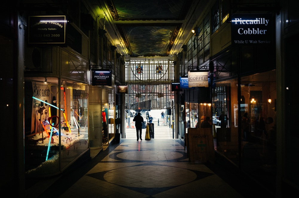 Piccadilly Arcade - Clifford Darby 2016