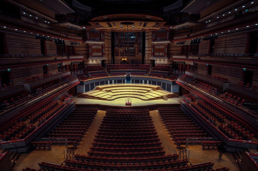 Symphony Hall, Birmingham - Clifford Darby 2016