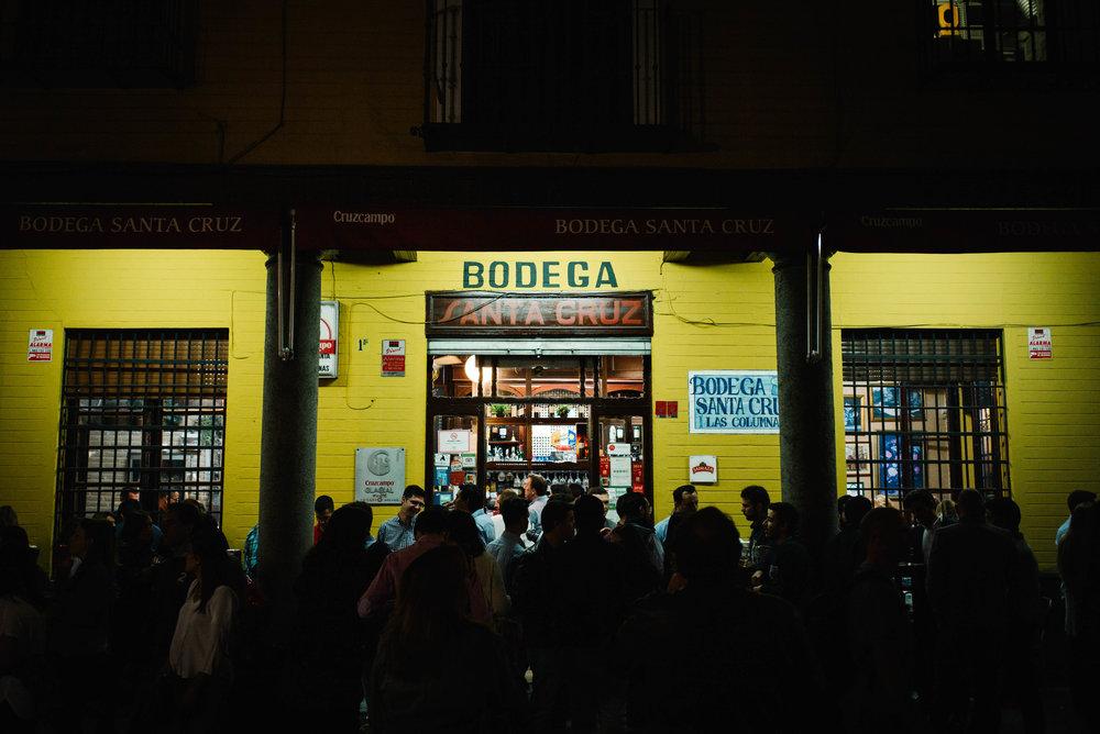 Bodega Santa Cruz, Seville. Spain. 2017.