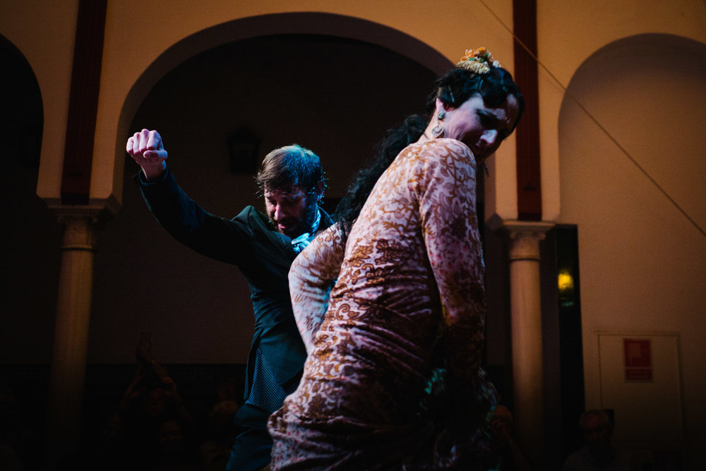 Flamenco dancers, Seville. Spain. 2017.
