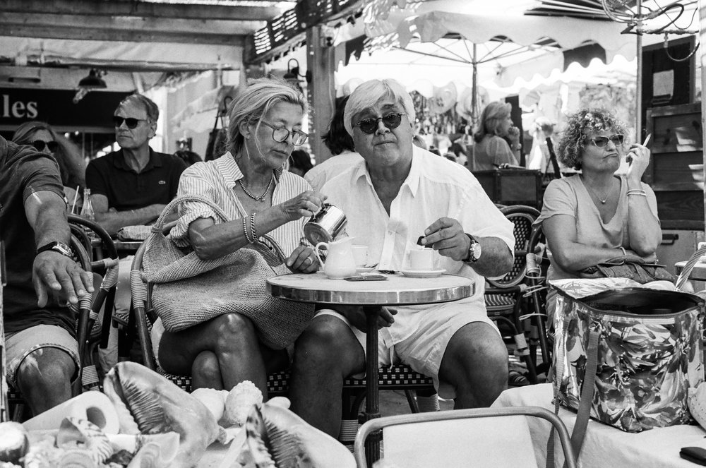 Breakfast, St. Tropez. France. 2017.