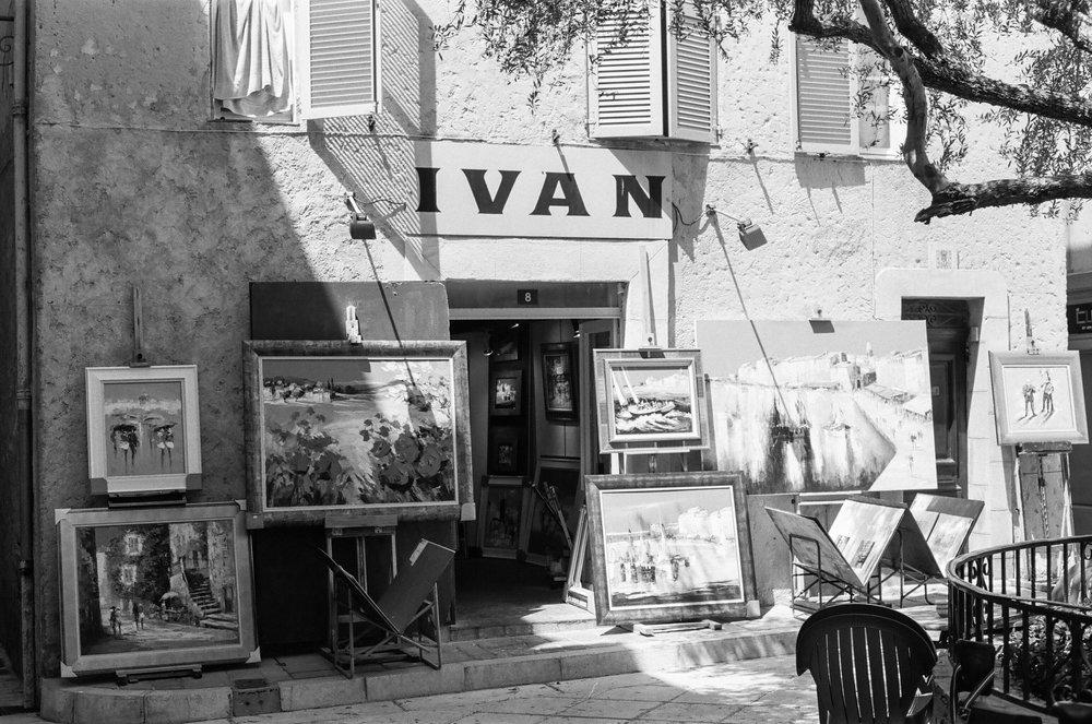 Ivan, St. Tropez. France. 2017.