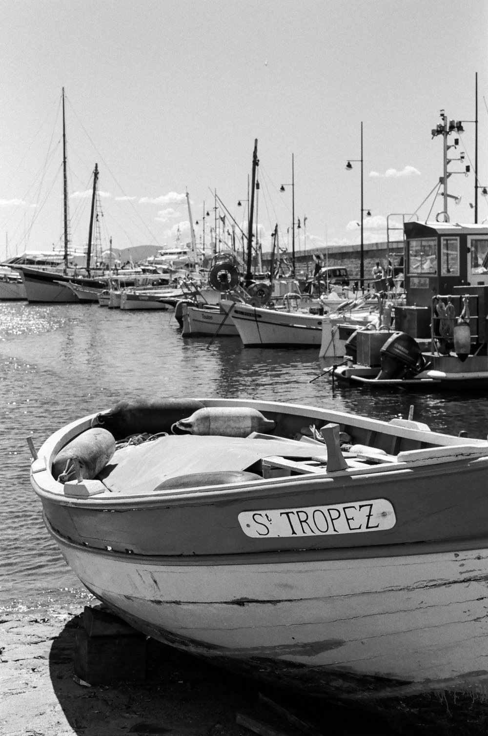 Port de Saint-Tropez, St. Tropez. France. 2017.