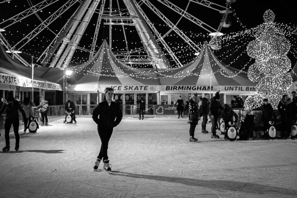 Ice Skate Birmingham - Clifford Darby 2016