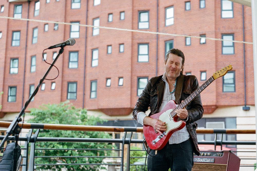 David Moore Blues Band, Birmingham, Solihull & Sandwell Jazz Festival. Birmingham, United Kingdom. 2017.