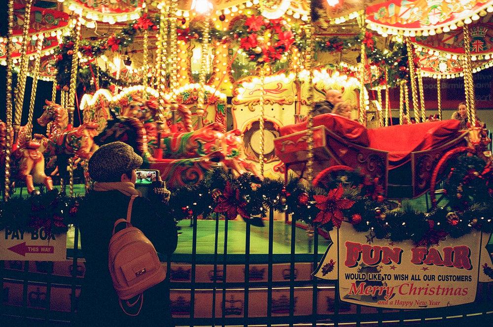 Frankfurt Christmas Market, Birmingham. United Kingdom. 2016.