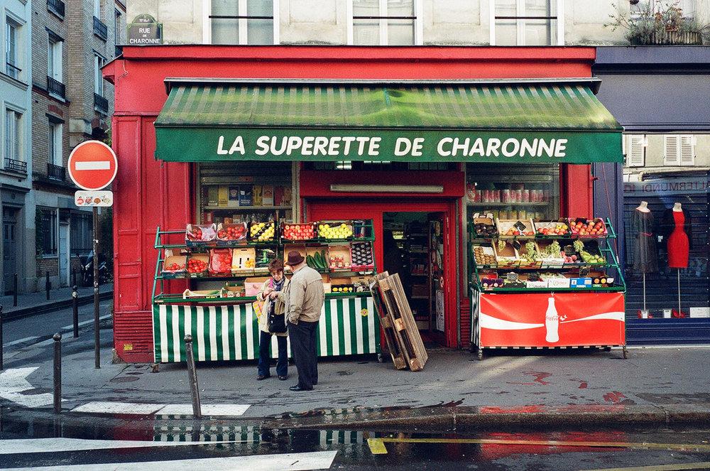 3. La Superette de Charonne - Clifford Darby 2016