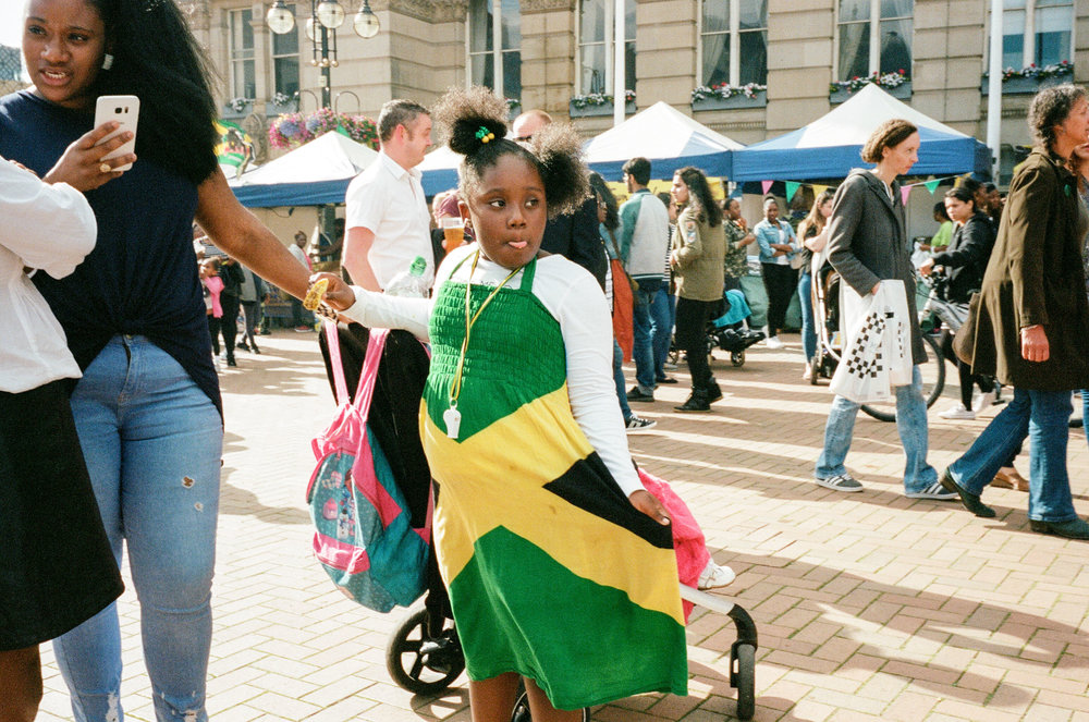 Jamaica in the Square II, Birmingham. United Kingdom. 2017.