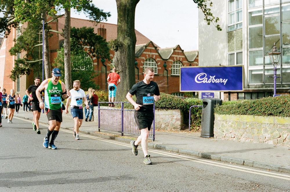 Birmingham International Marathon & Simplyhealth Great Birmingham Run - Half Marathon, Birmingham. United Kingdom. 2017.