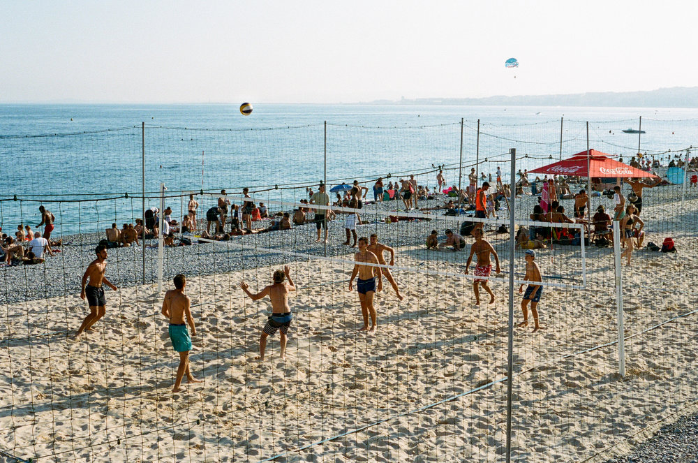 Volleyball, Nice. France. 2018.