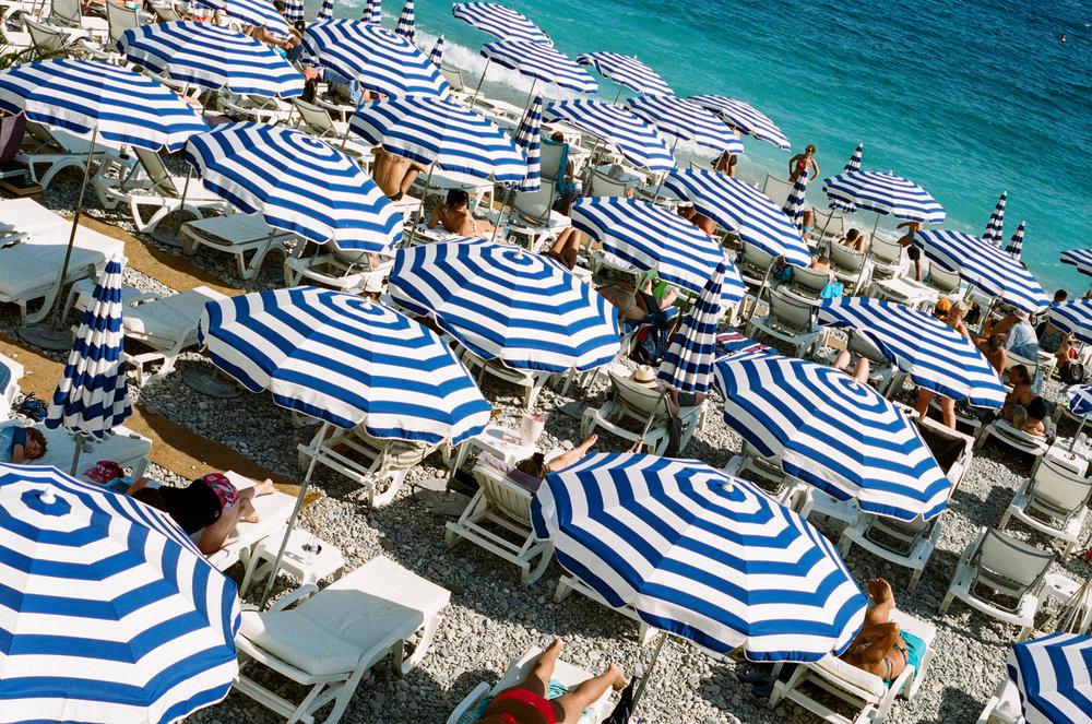 Promenade des Anglais, Nice. France. 2018.