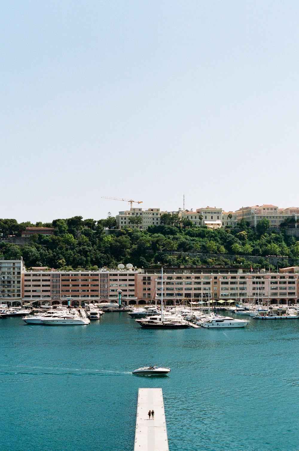Port Hercules. Monaco. 2018.