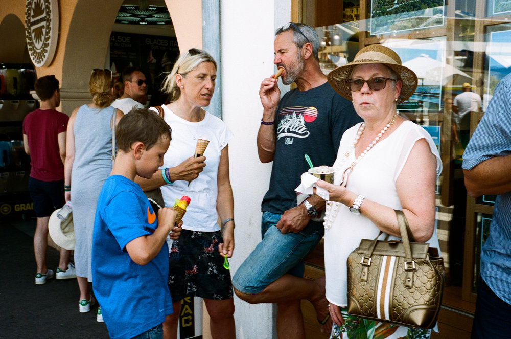 Ice cream, Saint-Tropez. France. 2018.