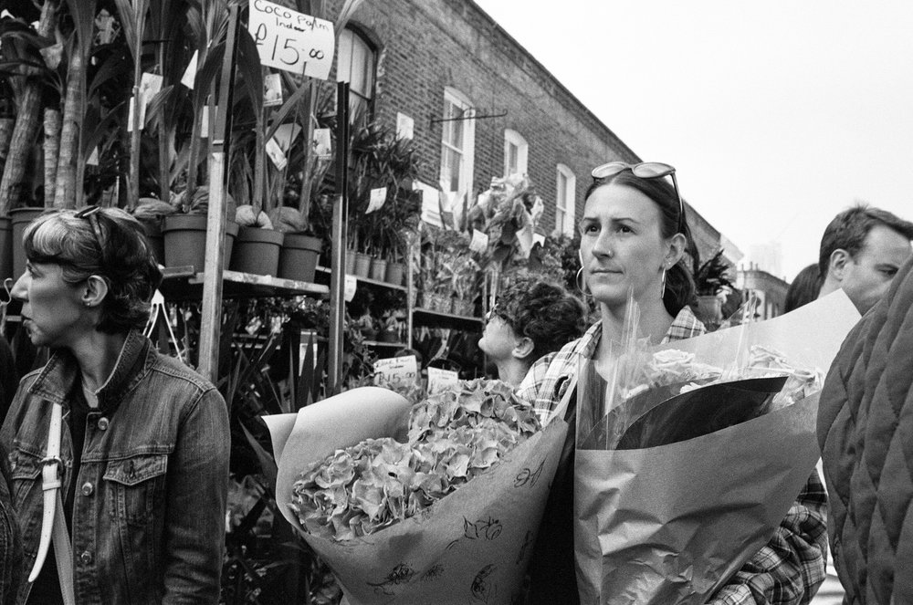 Columbia Road Flower Market - Clifford Darby 2018