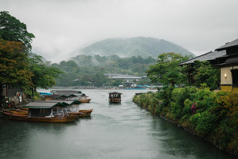 Katsura River, Kyoto. Japan. 2017.