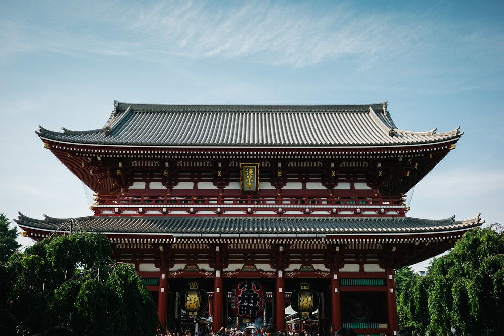 Sensō-ji Temple, Tokyo. Japan. 2017.
