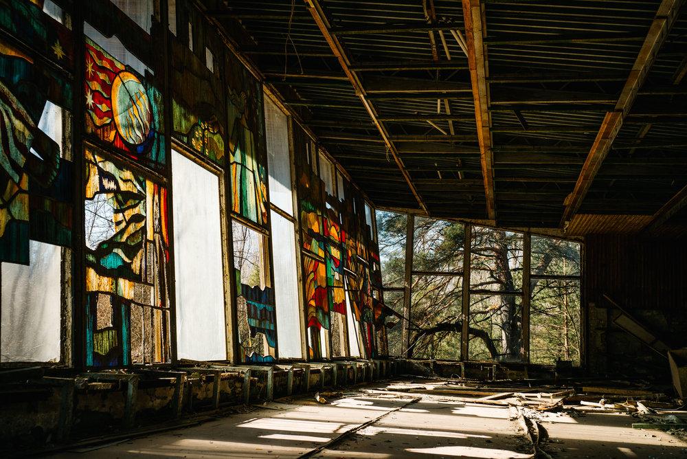 Café Pripyat - Clifford Darby 2019