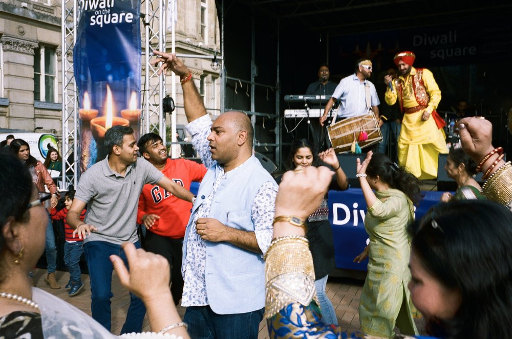 Diwali in the Square, Birmingham. United Kingdom. 2018.